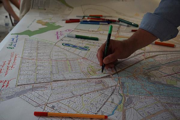 Lakossági fórum - térkép