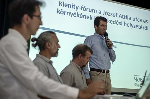 Lakossági fórum a Klenity és a Csapás utca közlekedési helyzetével kapcsolatban